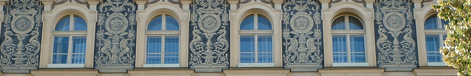 Fenster in Prag